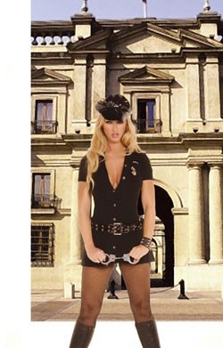 Officer Arrest Me Womens Adult Halloween Costume