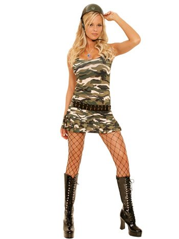 Cadet Cutie Womens Halloween Costume