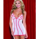 2 pc Mesh Nurse Dress w/Headpiece