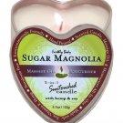 Earthly body 3 in 1 candle - 4.7 oz sugar magnolia