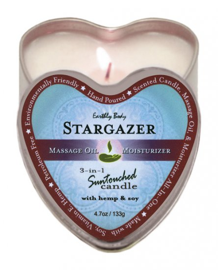 Earthly body 3 in 1 candle - 4.7 oz stargazer