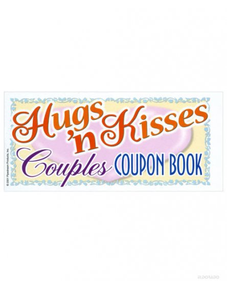Hugs 'n kisses coupon book