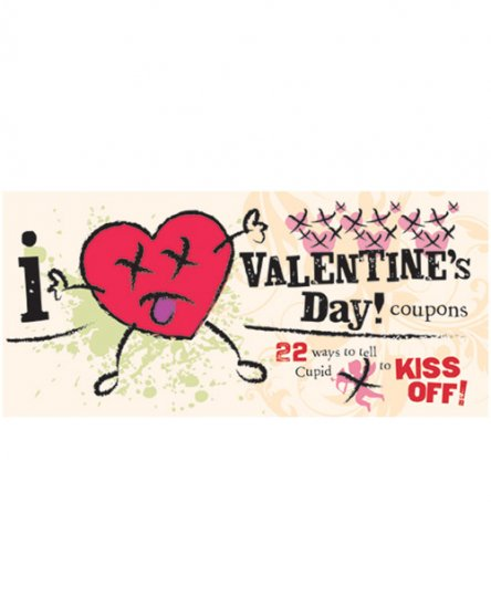 I (don't) heart valentines coupons