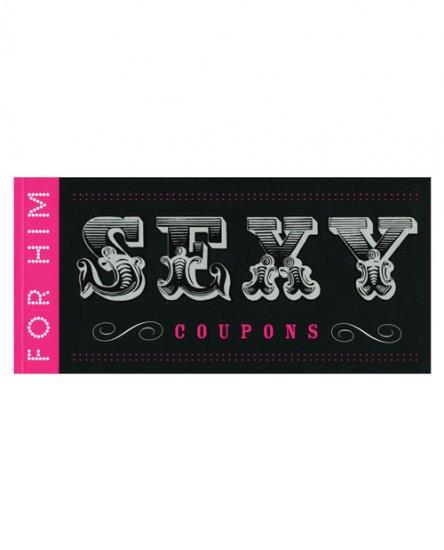 Sexy coupon for him coupon book