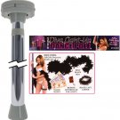 Diva light-up dance pole - chrome