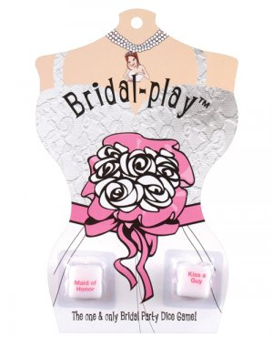 bachelorette party bridal dice game for bride to be