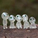 Princess Mononoke Elf Figure Fairy Garden Cartoon Miniature Collectibles Toys