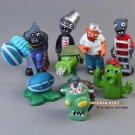 8pcs Set  Figurine Plants vs Zombies PVC Action Figures Collectibles Toys Game A