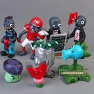 8pcs Set  Figurine Plants vs Zombies PVC Action Figures Collectibles Toys Game B