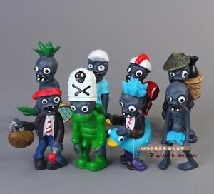 8pcs Set  Figurine Plants vs Zombies PVC Action Figures Collectibles Toys Game C