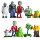 10pcs Set Mini Figures Plants vs Zombies PVC Action Figures Collectibles Toys