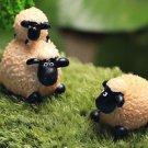 2PCS Fat Sheep Family Figure Fairy Garden  Miniature Minions Figurine Landscape