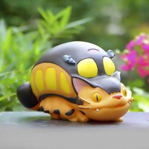 Totoro Bus Figures Piggy bank Saving Pot Desk Display Home Decor Birthday Gift