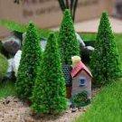 5X Mini Cedar tree Fairy Garden  Artificial Plants DIY Moss Terrarium Suppliers