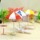 6pc Beach Chair Figurine Set Mini Toy Garden Decor For Terrarium Moss Suppliers