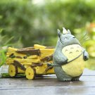 Totoro Large Car Set Pen container/ Plants FlowerPot Fairy Garden Figure Display