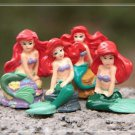 4X Mermaid Figure Fairy Garden Toys Miniature Figurine Terrarium Succulent Decor