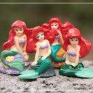 4X Mermaid Figure Fairy Garden Toys Miniature Figurine Terrarium Succulent Decor