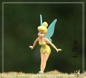 3X Fairy Girls Disney Figure Fairy Garden Miniature Figurine Micro Landscape Toy