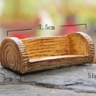 Micro Landscape Fairy Garden Mini Bench Dollhouse Moss Succulent Figure Accessor