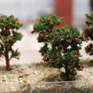 6X Apple Tree Fairy Garden Accessories, Mini Dollhouse Miniature Figurines DIY