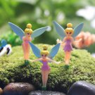 5PCS Mini fairies Angel Girls Figure Fairy Garden  Miniature Minion Toys Decor