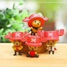 4pcs Set Mini Figures One Piece Joba Collectibles Toys Desk Décor Fairy Garden