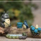 My neighbor totoro Theater Ver. Figure Season Summer Fairy Garden Display Toy