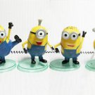 4 Despicable Me Movie Minions Character Figure Doll Toy Set Kid Gift Display