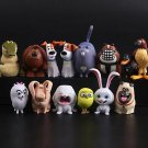 14 The Secret Life of Pets Collectibles Figure Toys Mini Figurine Gift Fans