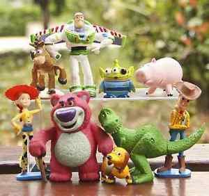 9x Toy Story  Collectibles Toys Buzz Lightyear Figure Gardening Fairies Decor