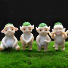4X Mini Hoopa Movie Figure Toys Collectibles Fairy Garden Accessories Miniature