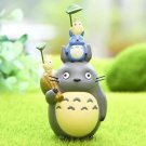 Home Decor pyramid building Totoro Plants Fairy Garden Accessories Miniature