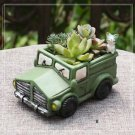 Vintage Car Succulent Flowerpot Plants Gardening Container Fairy Garden Decor