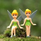2pc Fairy Tale Girls Figure Mini Garden Figurine Toy Gardening Suppliers