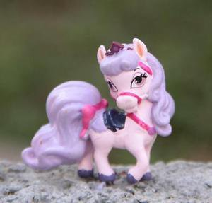 1 Rare Horse My Little Pony Mini Figures Toy Collectibles Fairy Garden Display