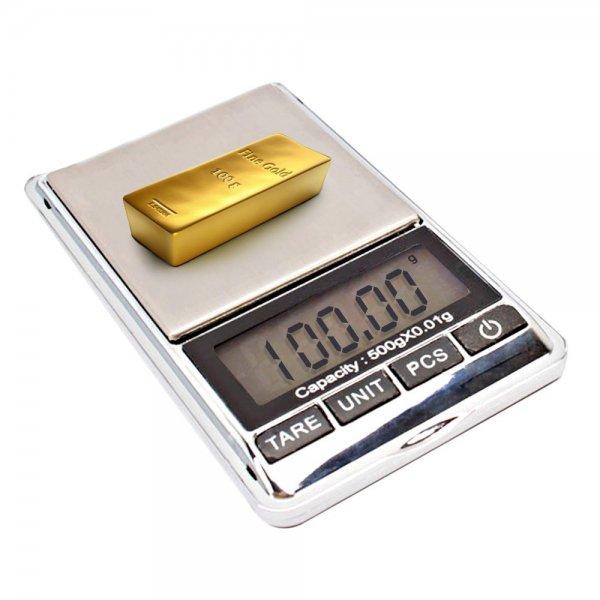 500g x 0.01g Mini Pocket Precise Digital Jewelry Scale - Free Delivery