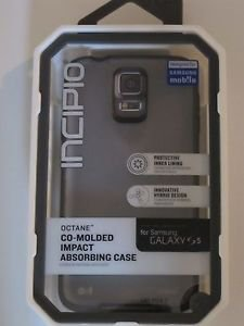 New OEM INCIPIO OCTANE Case for SAMSUNG Galaxy S5 Frost GREEN/ Frost BLACK