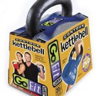 GOFIT GF-CKB20 CONTOUR KETTLEBELL & DVD (20 LBS, BLUE)