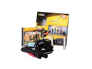 GOFIT GF-RSPORT RopeSport Kit with Speed Rope & Training DVD
