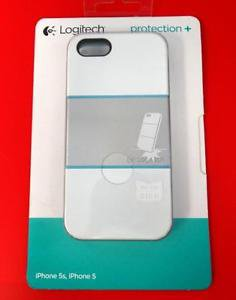 N Logitech 989-000142 iPhone 5 5s Protection Plus [+] Phone Case White/Blue