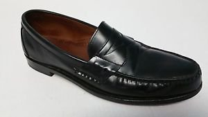 Allen Edmonds Walden Mens Black Leather Penny Loafer Slip On Shoes size 13 3A