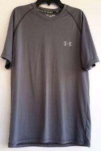 UNDER ARMOUR RUN HEATGEAR Regular Fit Mens Running Shirt Size SM/P/P Regular