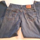 Levis 550 Relaxed Fit Mens Distressed Denim Blue Jeans Size W34 L34 Cotton