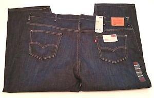 Levi's 559 Mens Big & Tall Denim Blue Jeans Relaxed Straight NWT $68 Sz W54 L29