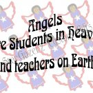 Mouse Pad - Angel Student - Inspirational