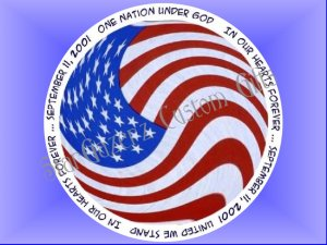 Mouse Pad - Forever In Our Hearts - Patriotic