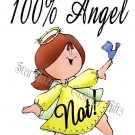 T-Shirt - Unisex - Humorous - Angel NOT!