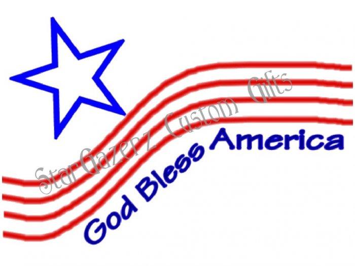 T-Shirt - Unisex - Patriotic - God Bless America