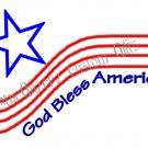 T-Shirt - Unisex - Patriotic - God Bless America